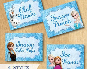 Pin On Frozen Birthday Party