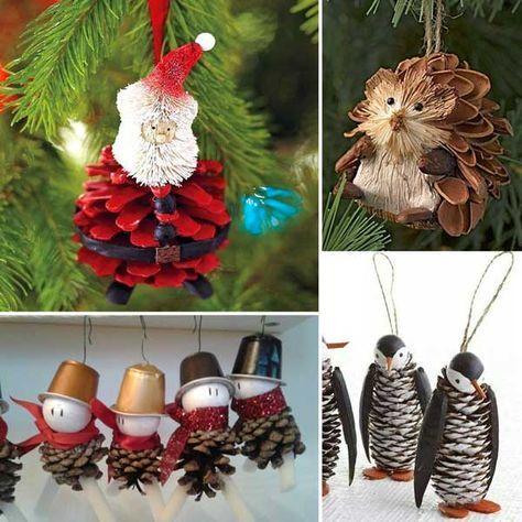 Decorazioni Natalizie Fai Da Te Per La Casa.Pin Su Natale
