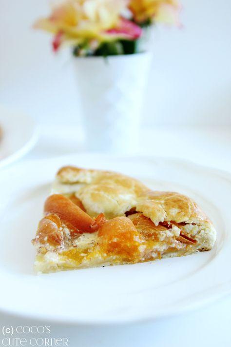 Coco's Cute Corner: Aprikosen Galette - oder Aprikosen Wähe im Kleid einer…