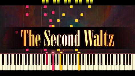 The Second Waltz Piano Shostakovich Youtube Piano Piano Tutorial Piano Tutorials