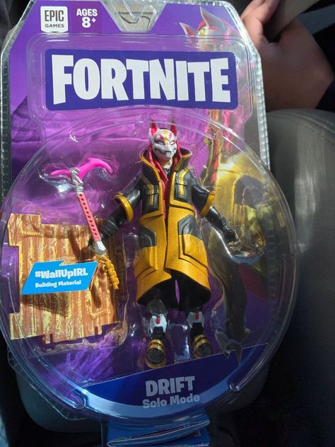 Fortnite Figure 4 Drift Solo Mode Epic Game Jazwares In Hand New