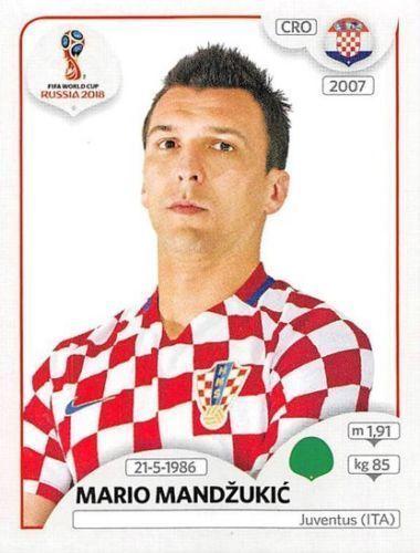 Panini Fifa World Cup Russia 2018 Sticker No 330 Mario Mandzukic Croatia Ebay Mario Mandzukic World Cup World Cup Russia 2018