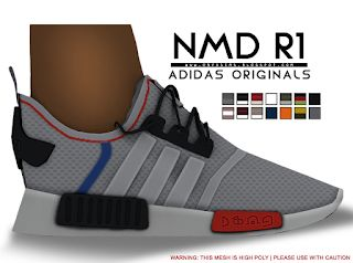 Adidas NMD_R1 Sneakers | Child Version Onyx Sims