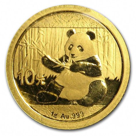 Sealed 2017 1 Gram Chinese Gold Panda 10 Yuan .999 Fine BU