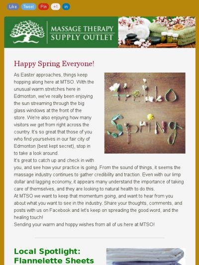 MTSO News - Welcome Spring, 2016