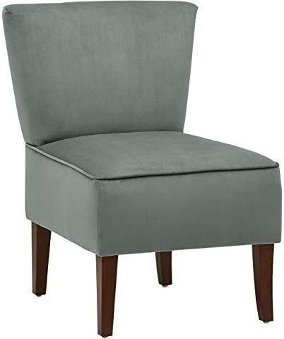 B U S Wohnstyle Sessel Stuhl Loungesessel Dunkel Grau Ws443 Amazon De Kuche Haushalt Lounge Sessel Sessel Retro Akzentstuhle