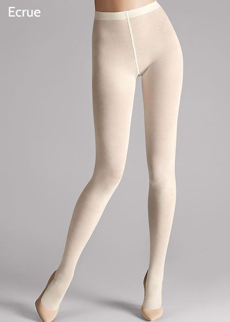 Wolford Merino Tights  I will never understand which problems some people have with wearing withe tights. :)