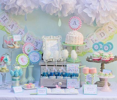 Kara's Party Ideas April Showers Birthday Party
