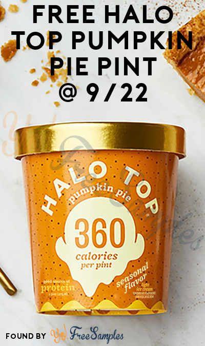 Halo Top Halo Top Halo Top Ice Cream Pumpkin Pie