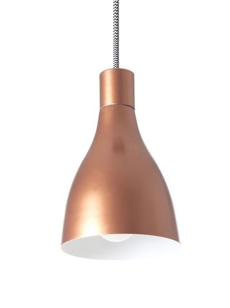 Leitmotiv Lm988 Suspension Nofoot Cuivre 12 5 X 25 5 Cm Amazon Fr Cuisine Maison Lampe Suspension Lumiere De Lampe Et Idee Luminaire