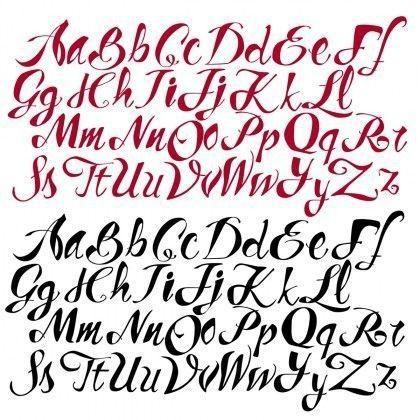 Letras Para Tatuajes De Nombres Fuentes Escritura Pinterest