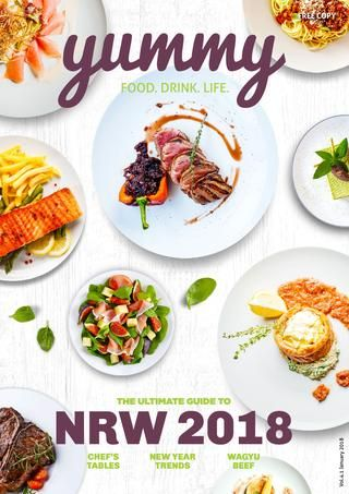 Yummy Vol 39  NRW 2018 in 2019 | Yummy Magazine Africa | Lunch menu