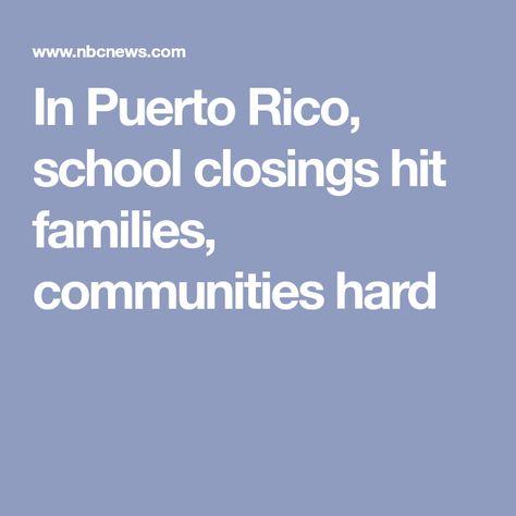 """This is a massacre against Puerto Rico's education,"" said Puerto"