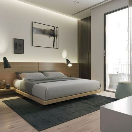 72 Modern Minimalist Bedroom Ideas Setyouroom Com Luxurious Bedrooms Modern Bedroom Design Minimalist Bedroom Design