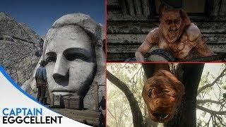 All Red Dead Redemption 2 Easter Eggs Part 2 New Easter Eggs