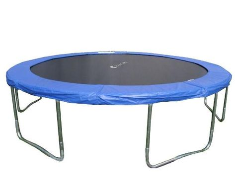 12ft Round Trampoline 6 W Legs With Safety Frame Spring Pad 6180 T012 Solar Panels For Home Home Decor Outdoor Furniture