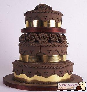 اجمل مجموعة تورتات 2020 تحميل تورتة عيد ميلاد Chocolate Wedding Cake Brown Wedding Cakes Cake