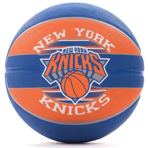 e3d666f5a52 Advertisement(eBay) Spalding NBA New York Knicks Team Basketball  Bleu/Orange - Taille 7