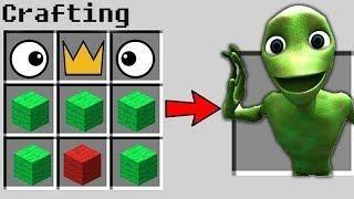 How To Craft Dame Tu Cosita In Minecraft Secret Crafting Recipies Ideas In 2020 Minecraft Secrets Minecraft Mini Games