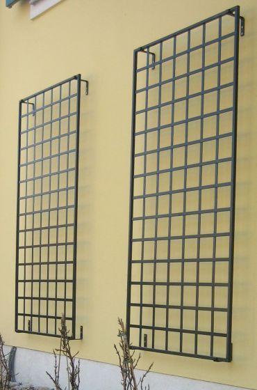 modern grid wall trellis