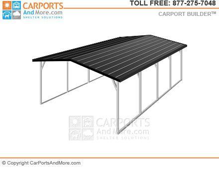 Metal Carport And Garage Kit Builder Metal Carports Carport Garage Kits