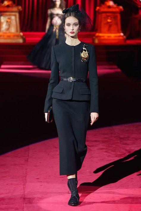 Dolce & Gabbana Fall 2019 Ready-To-Wear Collection Review #dolceandgabbana #fall2019 #milan #mfw