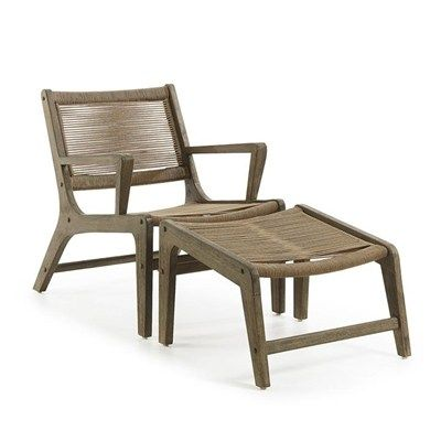 Swell Bosley Rope Eucalyptus Timber Indoor Outdoor Lounge Pdpeps Interior Chair Design Pdpepsorg