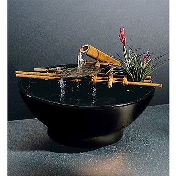 Nature Bowl 203 Tabletop Fountain Tabletop Fountain Water Fountain Indoor Water Fountains