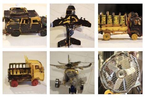 Guled Abdi Adan, Eco giocattoli | Giocattoli e Design