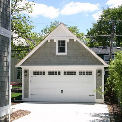Garages on pinterest 17 pins for Detached 2 car garage designs