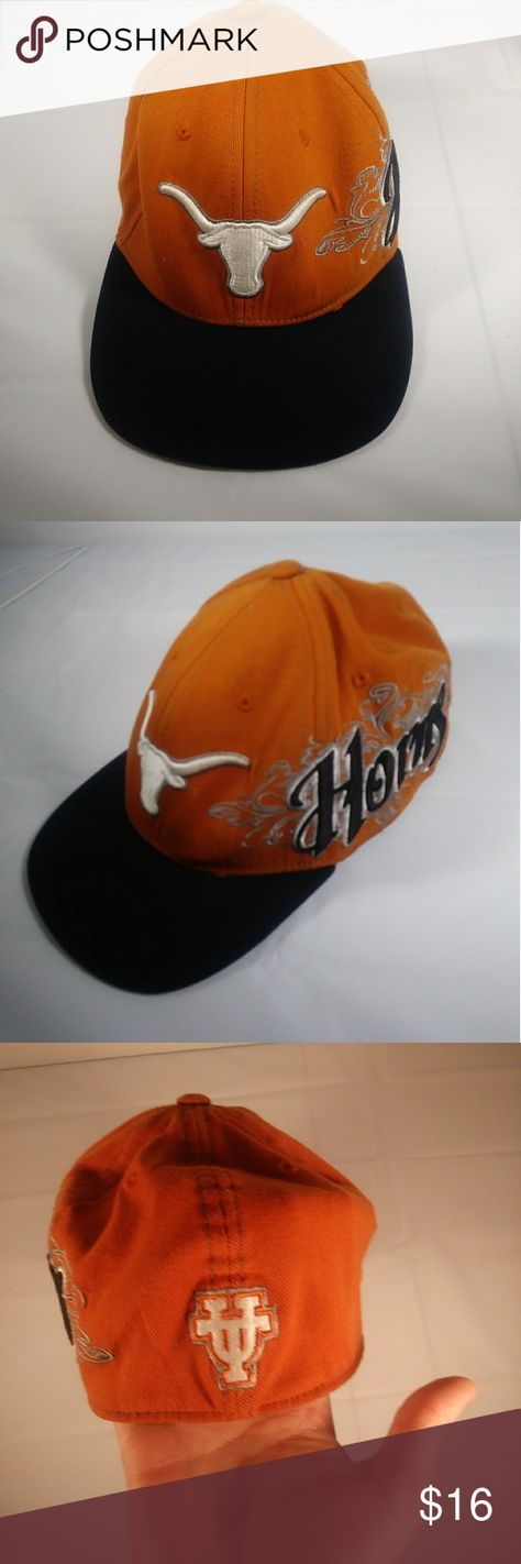 Texas Horns hat one size collegiate licensed Texas horns One size  Collegiate licensed    Very clean, Smoke free and animal free home! All items are inspected for cleanliness and any wear and tear!      Our inventory: box B Top of the World Accessories Hats