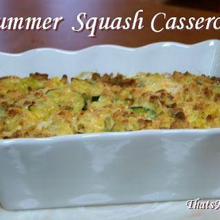 Baked Summer Squash Casserole Recipe Yummly Recipe Summer Squash Casserole Squash Casserole Recipes Squash Casserole