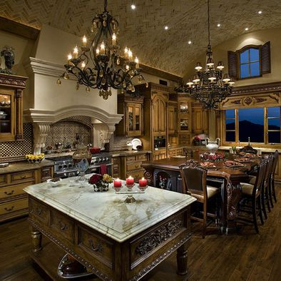 Mediterranean Kitchen Design, Pictures, Remodel, Decor and Ideas - page 9