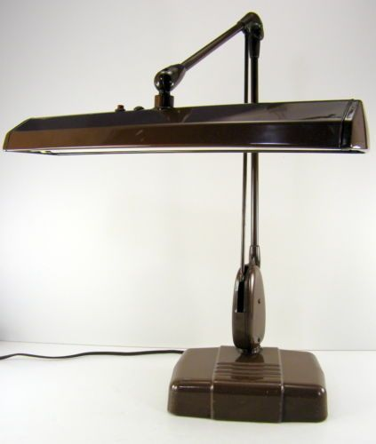DAZOR Floating Fixture Model 2324 Industrial Modern Era Drafting Desk Lamp Light