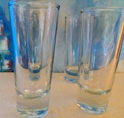 Set Of Four Vintage  Shot Glasses
