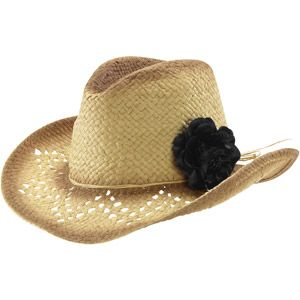 10 Women s Straw Cowboy Hat with Removable Flower  c671918ee13