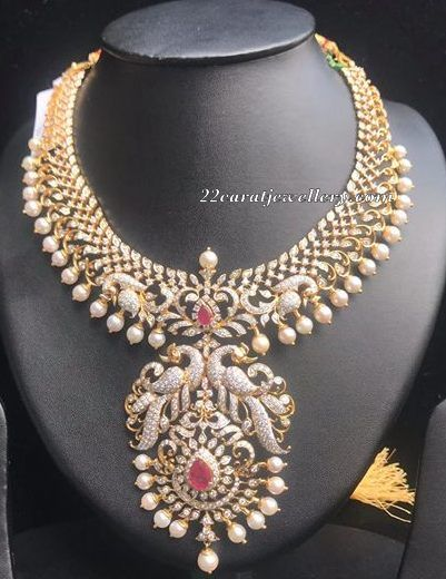 10 Lakhs Grand Diamond Set By Manjula Rao Elegant Necklaces Wedding Jewellery Collection Diamond Wedding Jewelry