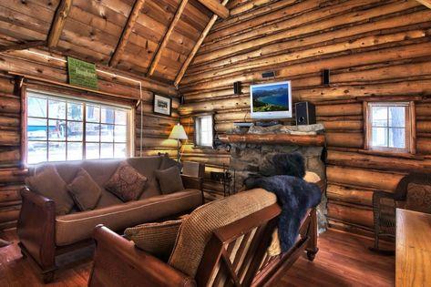 Tiny Log Cabin Near Lake Tahoe