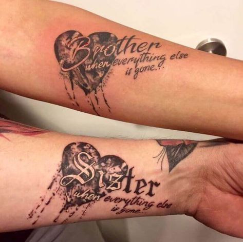 Brother Tattoos Brother Tattoos Matching Sister Tattoos Brother Sister Tattoo