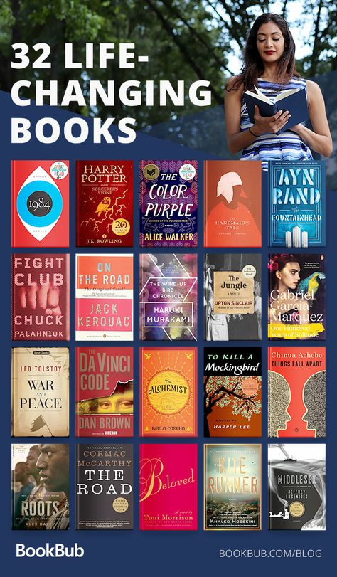 Life-changing nonfiction books for men, women, and teens. A great reading list.