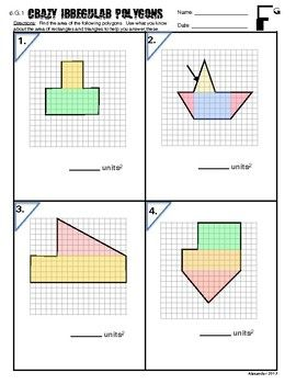 23+ Area of irregular polygon worksheet Ideas In This Year