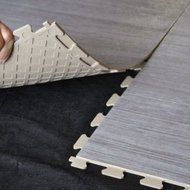 Perfection Floor Tile Wood Grains 6 Tiles 16 62 Sqft Per Cs Driftwood Unfinished Basement Bedroom Kitchen Floor Tile Floor Tile Design