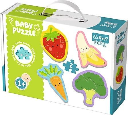 Trefl Puzzle Baby Classic Warzywa I Owoce 7250684418 Oficjalne Archiwum Allegro Baby Puzzles Baby Puzzle