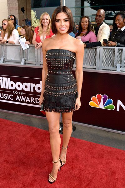 Actor Jenna Dewan attends the 2018 Billboard Music Awards at MGM Grand Garden Arena.