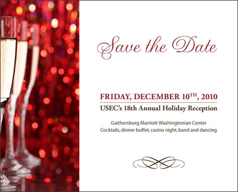 holiday save the date templates - Google Search GMR Christmas - save the date template