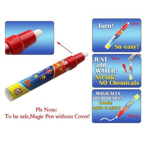 4 Mb 39x29cm Water Drawing Painting Writing Mat Board Magic Pen Doodle New Us 3 25 Doodles Pen Doodles Water Drawing
