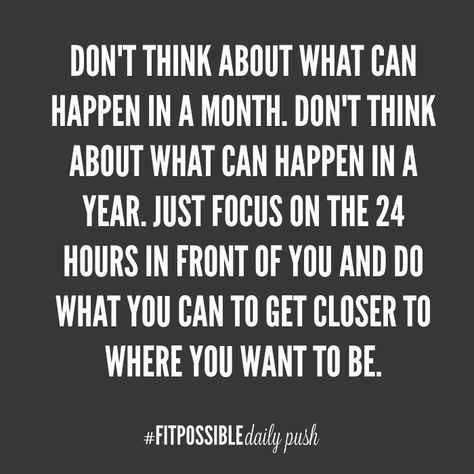 You Daily Health and Fitness Motivation provided by @fitpossiblecoach . Make sure you REPIN if you like seeing these quick quotes. This will help spread inspiration and motivation to more people searching! facebook.com/... More