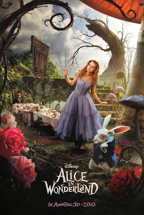Alice In Wonderland (Triptych) - 2010