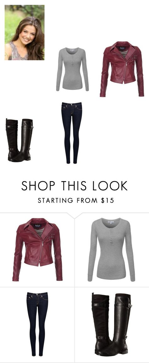 """""""Untitled #156"""" by girlwhosparkles ❤ liked on Polyvore featuring Barbour International, rag & bone/JEAN and Aerosoles"""