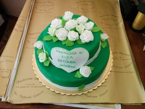 Torta Promessa Di Matrimonio Promesse Di Matrimonio Torte Per Battesimo Feste Di Matrimonio